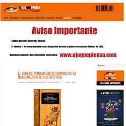 El ojo que piensa / Revista Virtual de Cine Iberoamericano - EL CINE DE PENSAMIENTO. FORMAS DE LA IMAGINACIÓN TECNO-ESTÉTICA