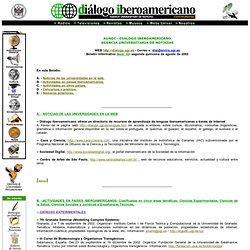 Bienvenid@s a Diálogo Iberoamericano, Agencia Universitaria de N