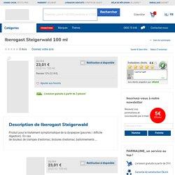 Iberogast Steigerwald 100 ml commander ici en ligne