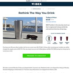 IBEX TUMBLER - Choose Your Color