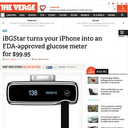 iBGStar turns your iPhone into an FDA-approved glucose meter for $99.95