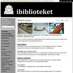 ibiblioteket - Mediekunnighet