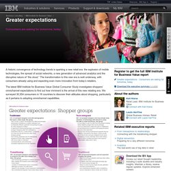 IBM Greater expectations