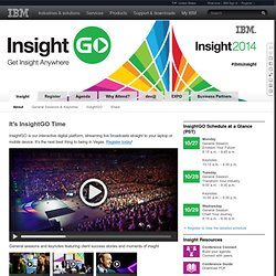 Insight - the Big Data Conference
