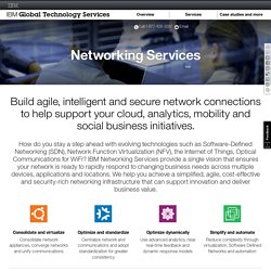 IBM Networking Services