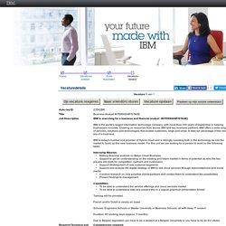IBM - Vacaturedetails