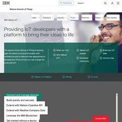 IBM Watson IoT - IoT Developer