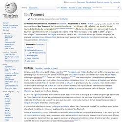 Ibn Toumert
