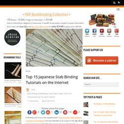 Top 15 Japanese Stab Binding Tutorials on the Internet - i BookBinding