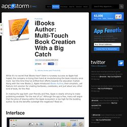 iBooks Author: Multi-Touch Book Creation With a Big Catch
