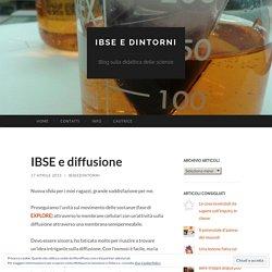 IBSE e diffusione