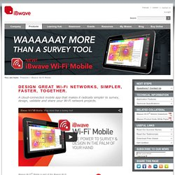 iBwave Wi-Fi Mobile
