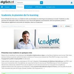 Icademie, le pionnier de l'e-learning