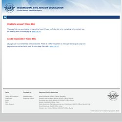 OACI - Civil aviation