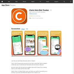 iCarb: Keto Diet Tracker on the AppStore