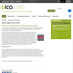 ICA.ORG: ICA Req