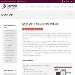 ICCNA LAB - iPhone, iPad and iPod App