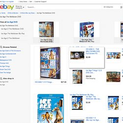 Ice Age: The Meltdown - eBay (item 320633808256 end time Dec-27-10 03:51:02 PST)