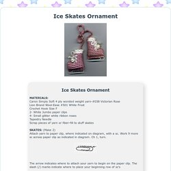 Ice Skates Ornament