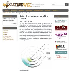 Onion & Iceberg models of the Culture – Culturewise