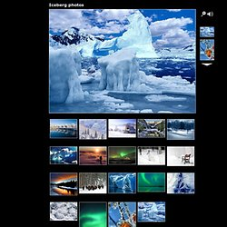 Iceberg photos, Landscapes, photos of landscapes