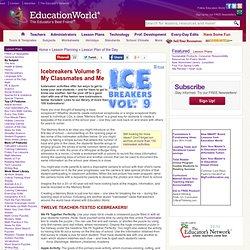 Education World: Icebreakers Volume 9: My Classmates and Me