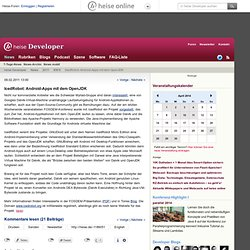 online - IcedRobot: Android-Apps mit dem OpenJDK