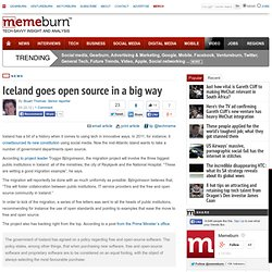Iceland goes open source