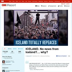 ICELAND. No news from Iceland?… why?