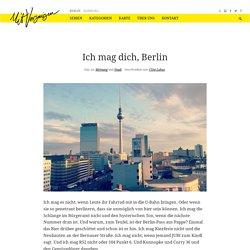 Ich mag dich, Berlin