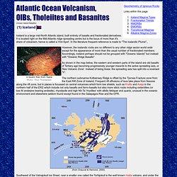 Iclandic Volcanism