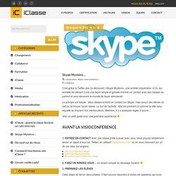 Skype Mystère...