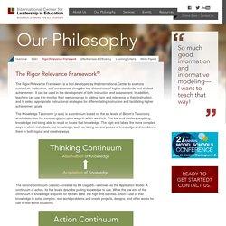 The Rigor Relevance Framework