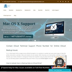 iCloud Tech Support Phone Number 1877-232-0717 for Customer Help