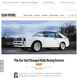 The Car that Changed Rally Racing Forever