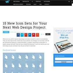 15 New Icon Sets for Your Next Web Design Project | Freebies