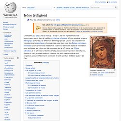 Icône (religion)