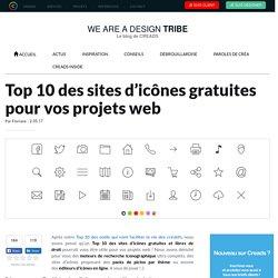 Top 10 des sites d'icônes gratuites et libres de droits