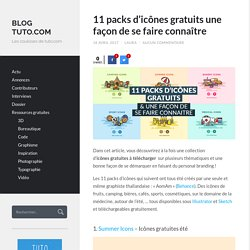 11 packs d'icônes gratuits & une façon de se faire connaître