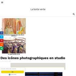 Des icônes photographiques en studio