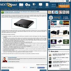 Iomega iConnect : transformer ses disques durs externes en NAS