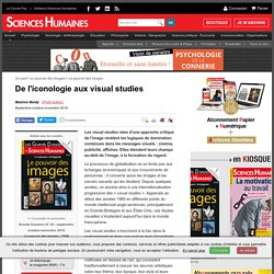 De l'iconologie aux visual studies
