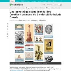 Une iconothèque sous licence libre Creative Commons à la Landesbibliothek de Dresde
