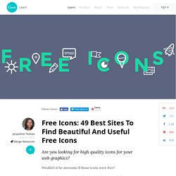 Free Icons: 49 Best Sites To Find Beautiful And Useful Free Icons