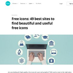 Free icons: 49 best sites to find beautiful and useful free icons – Learn