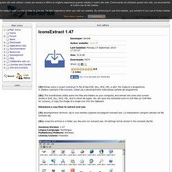 IconsExtract Portatile