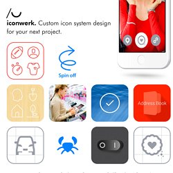 iconwerk, custom icon design & pictogram design.