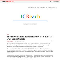 ICREACH: How the NSA Built Its Own Secret Google -The Intercept