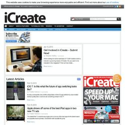 iCreate - Apple, Mac, iPhone in-depth Reviews, News and Tips
