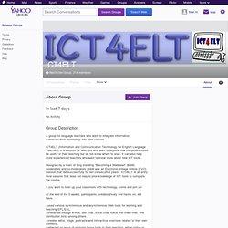 ICT4ELT
